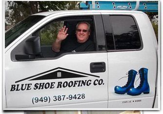 Rod the Roofer in truck
